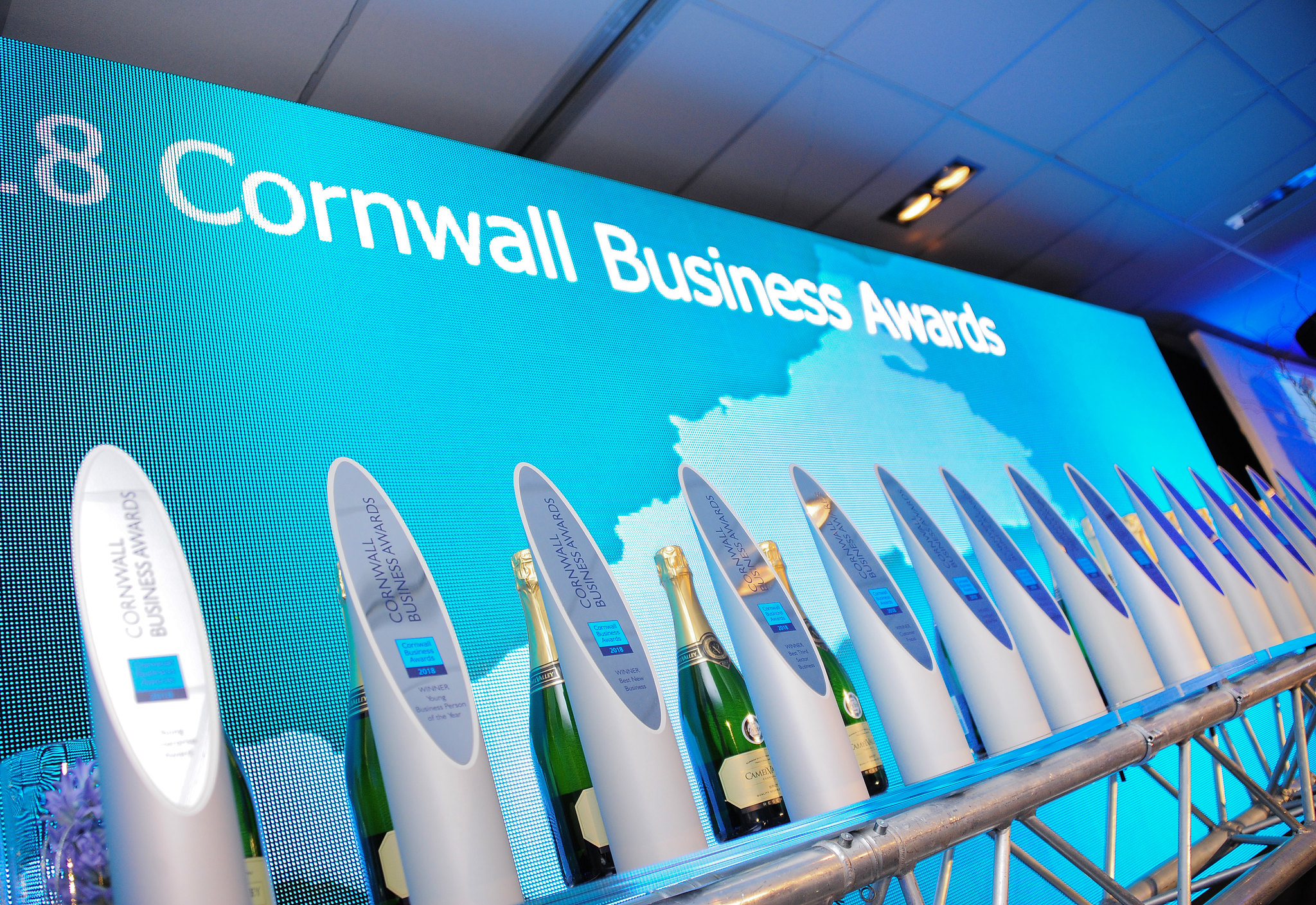 Cornwall Business Awards Trophies