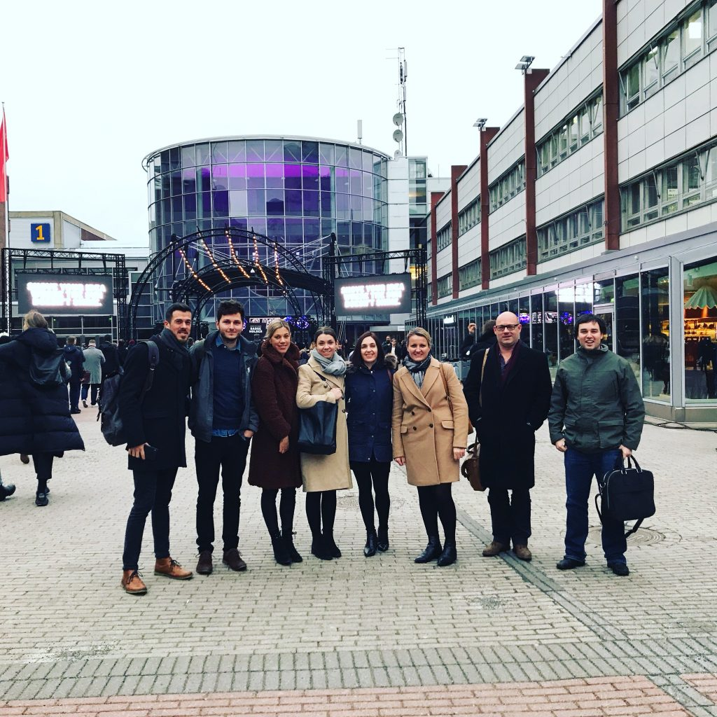 Cornwall Team at Slush
